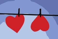 De Online Illustratie van het hart Royalty-vrije Illustratie