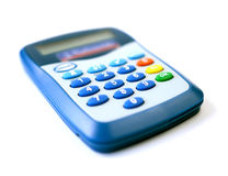De online Lezer van de Creditcard stock afbeeldingen