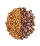 De onmiddellijke koffie stock fotografie
