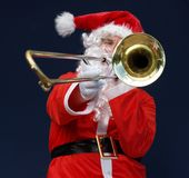 De Ontploffing van de kerstman royalty-vrije stock fotografie
