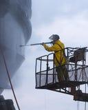 De ontploffing van de sleepboot Royalty-vrije Stock Afbeelding