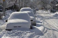 De Ontploffing van de winter royalty-vrije stock afbeelding