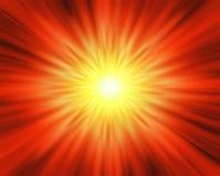 De ontploffing van de zon Royalty-vrije Stock Foto