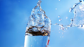 De ontploffing van het water royalty-vrije stock foto