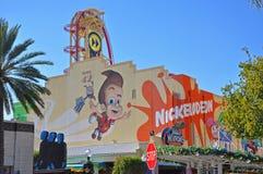 De Ontploffing van Nicktoon van Jimmy Neutron in Algemeen begrip, FL, de V.S. stock fotografie