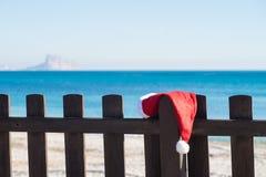 De ontsnapping van het Kerstmisstrand stock afbeeldingen