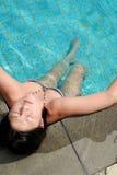 De ontspanning van de zomer stock foto's