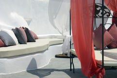 De ontspanningsgebied van het hotel Royalty-vrije Stock Afbeeldingen