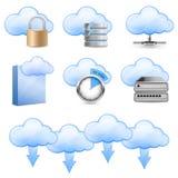 De Ontvangende Pictogrammen van de wolk