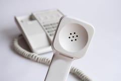 De Ontvanger van de telefoon Royalty-vrije Stock Afbeeldingen