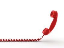 De ontvanger van de telefoon stock illustratie