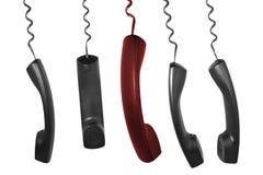 De ontvangers van de telefoon Royalty-vrije Stock Fotografie