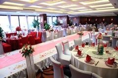 De ontvangst van het huwelijk in China Stock Foto