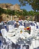 De Ontvangst van het huwelijk in Spanje Royalty-vrije Stock Fotografie