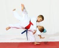 De karate van de sport stock afbeeldingen