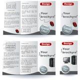 De ontwerpen van de brochure Royalty-vrije Stock Fotografie