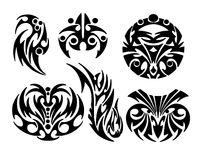 De ontwerpen van de tatoegering Stock Foto's