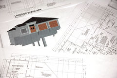 De ontwerpen van het huis Royalty-vrije Stock Afbeeldingen