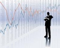 De ontwikkeling van de cursus stock illustratie