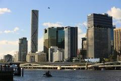De ontwikkeling van de urbanisatie in Australië royalty-vrije stock foto's
