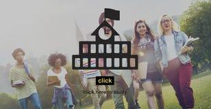 De Ontwikkelingsonderwijs van de schoolstudie het Leren Concept Royalty-vrije Stock Foto