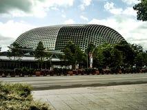 De ontzagwekkende moderne ontwerp levensstijl Singapore van de de bouwstad Stock Foto's
