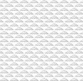De ontzagwekkende vector van het piramide naadloze patroon stock illustratie