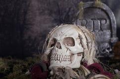 De Onverbiddelijke Maaimachine van Halloween Royalty-vrije Stock Foto