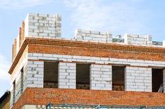 De onvolledige bouw Stock Afbeeldingen