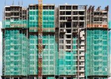 De onvolledige bouw stock foto