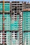 De onvolledige bouw stock foto's