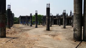 De onvolledige bouw Stock Fotografie