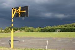 De onweer komst royalty-vrije stock foto's