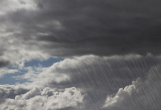 De Onweerswolken van de regen royalty-vrije stock foto