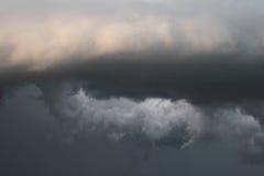 De onweerswolken van de tornado Royalty-vrije Stock Foto