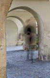 De onzichtbare priester Stock Foto's