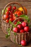 De oogst van de zomer. Stock Foto
