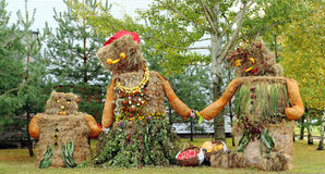 De oogstdecoratie van de herfst Royalty-vrije Stock Fotografie