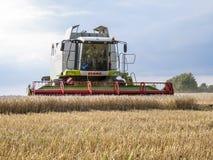 De oogstmachine stock fotografie