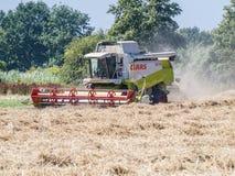 De oogstmachine stock foto's