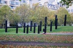 De Oorlog Herdenkingshyde park corner van Nieuw Zeeland in Londen Stock Foto's