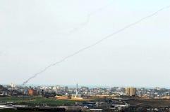 De Oorlog van Gaza Stock Afbeelding