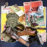 De Oorlog van Vietnam op achtergrond royalty-vrije stock foto