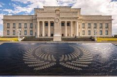 De Oorlogs Herdenkingsmuseum van Auckland Royalty-vrije Stock Foto