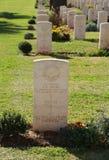 De Oorlogsbegraafplaats van biersheba Royalty-vrije Stock Afbeeldingen
