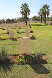 De Oorlogsbegraafplaats van biersheba Stock Afbeelding