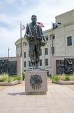 De Oorlogsgedenkteken van Oklahoma Stock Afbeelding