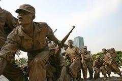 De Oorlogsgedenkteken van Zuid-Korea, Seoel Royalty-vrije Stock Afbeelding