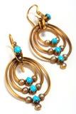 De oorringen van Antic, juwelen Royalty-vrije Stock Afbeelding