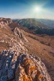 De Oost-Krim mountains_2 Royalty-vrije Stock Foto's